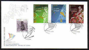 Cyprus Stamps SG 1190-92 2009 XIII Games of the Small States of Europe with Refugee stamp - Unofficial FDC (a962)