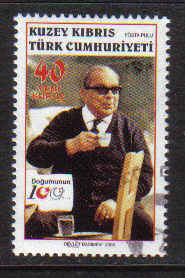 North Cyprus Stamps SG 0634 2006 100th Birth Centenary of Dr Fazil Kucuk - USED (b174)