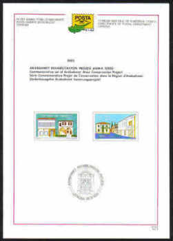North Cyprus Stamps Leaflet 121 - 1993 Arabahmet area conservation project
