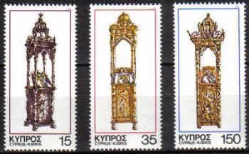 Cyprus Stamps SG 515-17 1978 Christmas - MINT