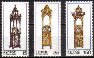 Cyprus Stamps SG 515-17 1978 Christmas - MINT