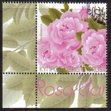 Cyprus Stamps SG 1243 2011 Aromatic Flowers Roses - CTO USED (d919)