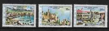 "North Cyprus Stamps SG 036-38 1976 Redrawn ""1976"" - MINT"