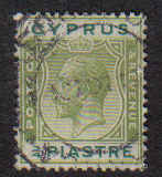 Cyprus Stamps SG 105 1924 3/4 Piastre - Used (b311)