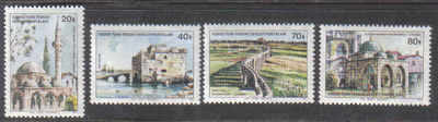 North Cyprus Stamps SG 054-57 1977 Turkish buildings in Cyprus - MINT