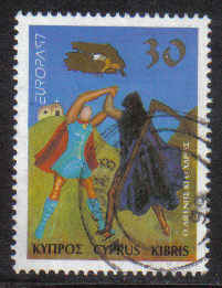 Cyprus Stamps SG 925 1997 30c - Used (b392)