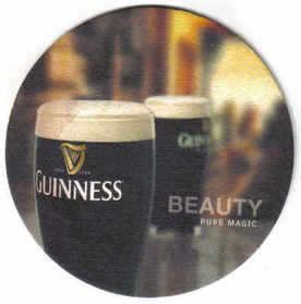 Ireland Beermats Guinness - UNUSED (b465)