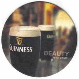 Ireland Beermats Guinness - UNUSED (b465)