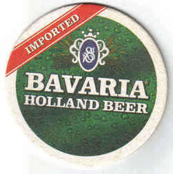 Holland Beermats Bavaria Imported - UNUSED (b466)