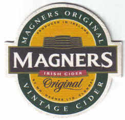 Ireland Beermats Magners Irish Cider - UNUSED (b467)