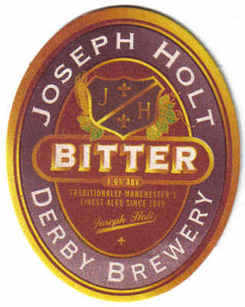 British Beermats Joseph Holt Manchester - UNUSED (b468)