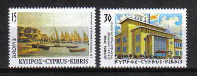 Cyprus Stamps SG 939-40 1998 Europa Festivals - MH