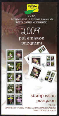 North Cyprus 2009 Stamp issue program