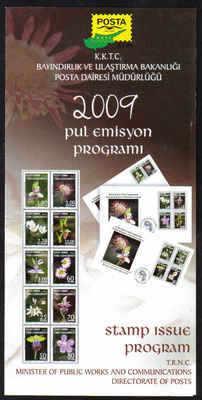North Cyprus 2009 Stamp issue program