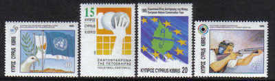 Cyprus Stamps SG 893-96 1995 Anniversaries and Events - MINT