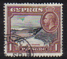 Cyprus Stamps SG 136 1934 1 Piastre - USED (b705)