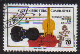 North Cyprus Stamps SG 165 1984 Visit of the Nurnburg Chamber Orchestra - USED (b606)