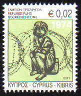 Cyprus Stamps 2011 Refugee Fund Tax SG 1245 - MINT