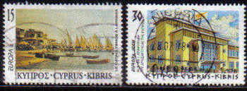 Cyprus Stamps SG 939-40 1998 Europa Festivals - USED (b843)