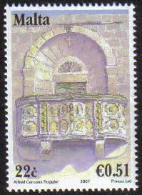 Malta Stamps SG 1536 2007 22c/51c - MINT