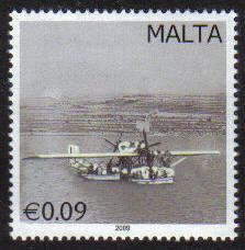Malta Stamps SG 1615 2009 9c Vintage Postal Transport - MINT