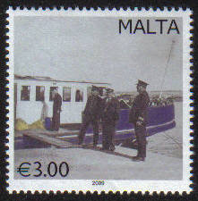 Malta Stamps SG 1618 2009 3.00 Vintage Postal Transport - MINT