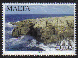 Malta Stamps SG 1631 2009 2c Scenery - MINT