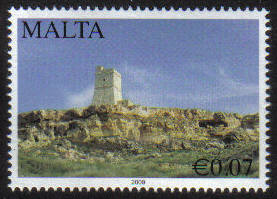 Malta Stamps SG 1632 2009 7c Scenery - MINT
