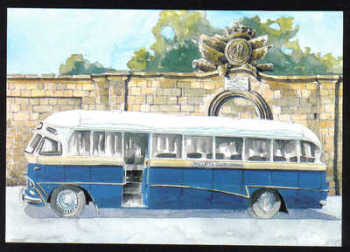 Malta Stamps Maximum Postcard 2011 No 22 Buses Transport - MINT