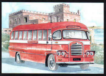 Malta Stamps Maximum Postcard 2011 No 23 Buses Transport - MINT