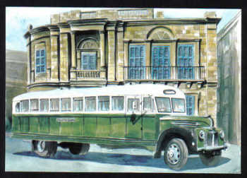 Malta Stamps Maximum Postcard 2011 No 28 Buses Transport - MINT