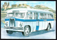 Malta Stamps Maximum Postcard 2011 No 31 Buses Transport - MINT