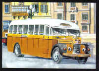 Malta Stamps Maximum Postcard 2011 No 34 Buses Transport - MINT