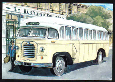 Malta Stamps Maximum Postcard 2011 No 37 Buses Transport - MINT