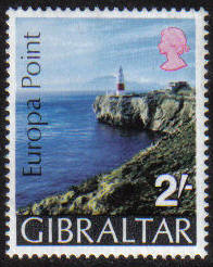 Gibraltar Stamps SG 0247 1970 Europa point - MINT