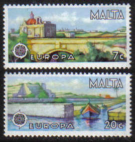 Malta Stamps SG 0584-85 1977 Europa - MINT