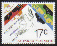 Cyprus Stamps SG 772 1990 17c - MINT