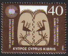 Cyprus Stamps SG 842 1993 40c - MINT