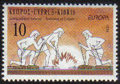 Cyprus Stamps SG 847 1994 10c - MINT