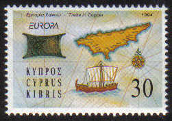 Cyprus Stamps SG 848 1994 30c - MINT