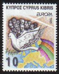 Cyprus Stamps SG 883 1995 10c - MINT