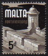 Malta Stamps SG 0337b 1970 5d - MINT