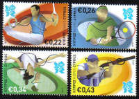Cyprus Stamps SG 1270-73 2012 London Olympic Games - MINT