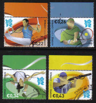Cyprus Stamps SG 2012 (b) London Olympic Games - CTO USED (g057)