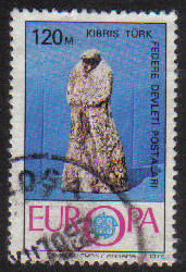 North Cyprus Stamps SG 028 1976 120m - USED (g095)
