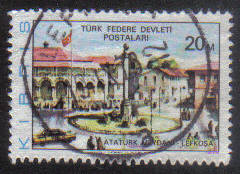 North Cyprus Stamps SG 038 1976 20m - USED (g099)