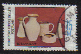 North Cyprus Stamps SG 051 1977 15m - USED (g101)