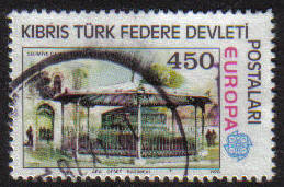 North Cyprus Stamps SG 064 1978 450k - USED (g105)