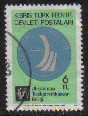 North Cyprus Stamps SG 084 1979 6TL - USED (g110)