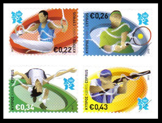 2012 Cyprus Stamps London Olympic games